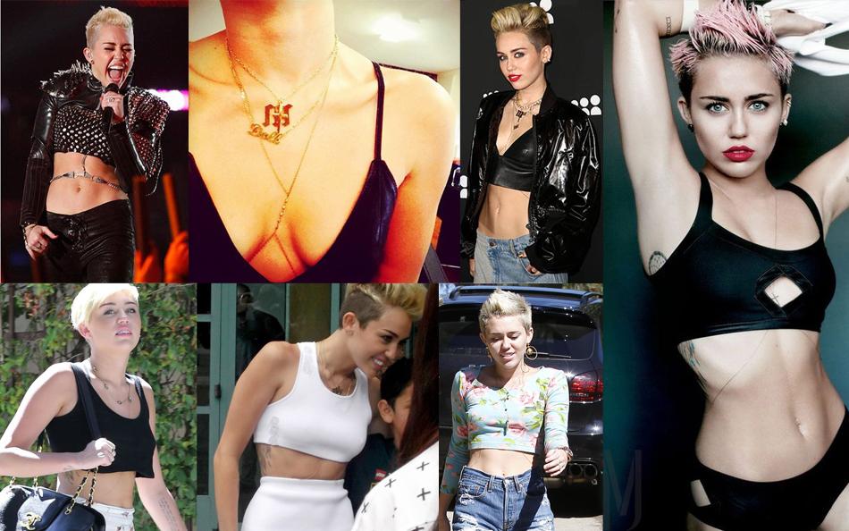 Miley Cyrus bodychain - madeofjewelry