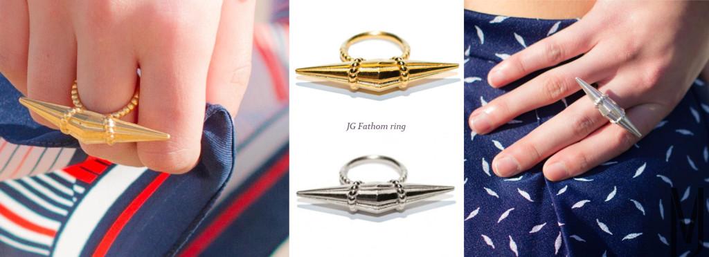fathom ring Jane Gowans - madeofjewelry