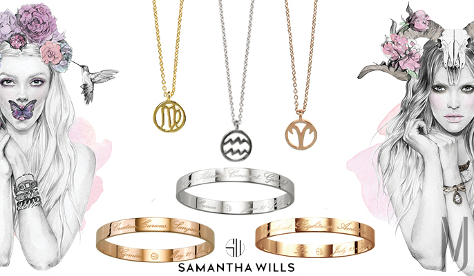 zodiac collage Samantha Wills by MadeOfJewelry
