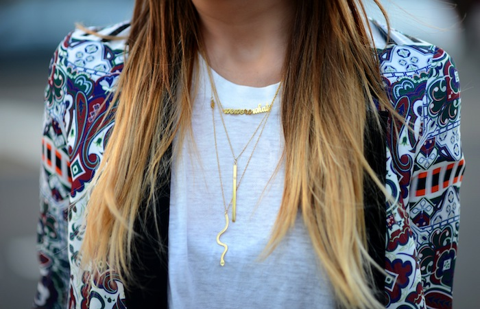 Danielle WeWoreWhat necklace - madeofjewelry