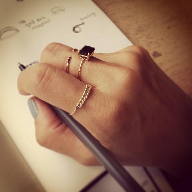 Jennie Kwon hand-onyx - madeofjewelry