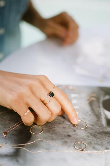 OnyxRing Jennie Kwon - madeofjewelry