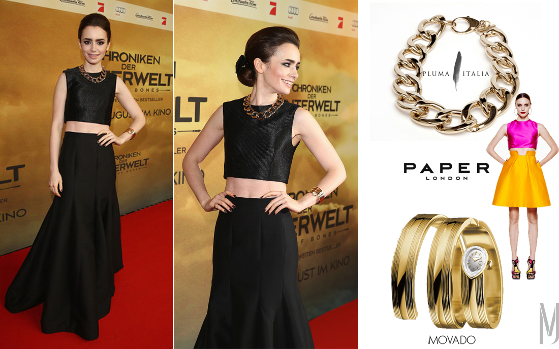 lily collins - madeofjewelry