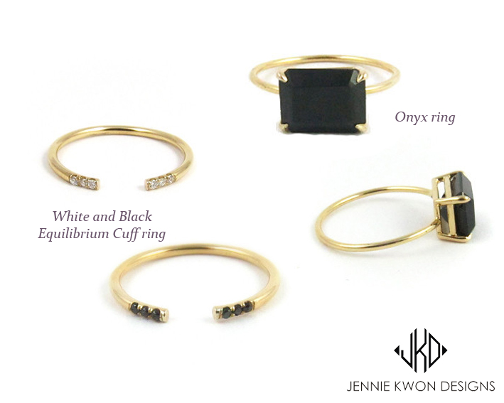 rings by Jennie Kwon - madeofjewelry