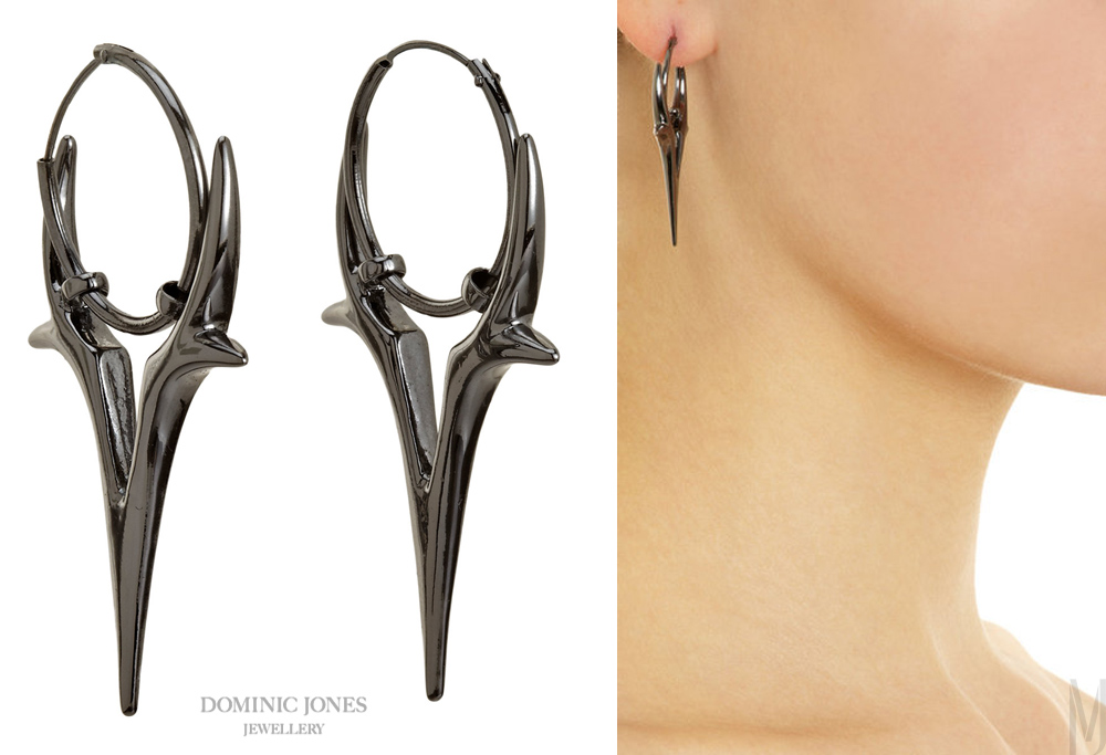 Dominic Jones Pegasus black rhodium - madeofjewelry