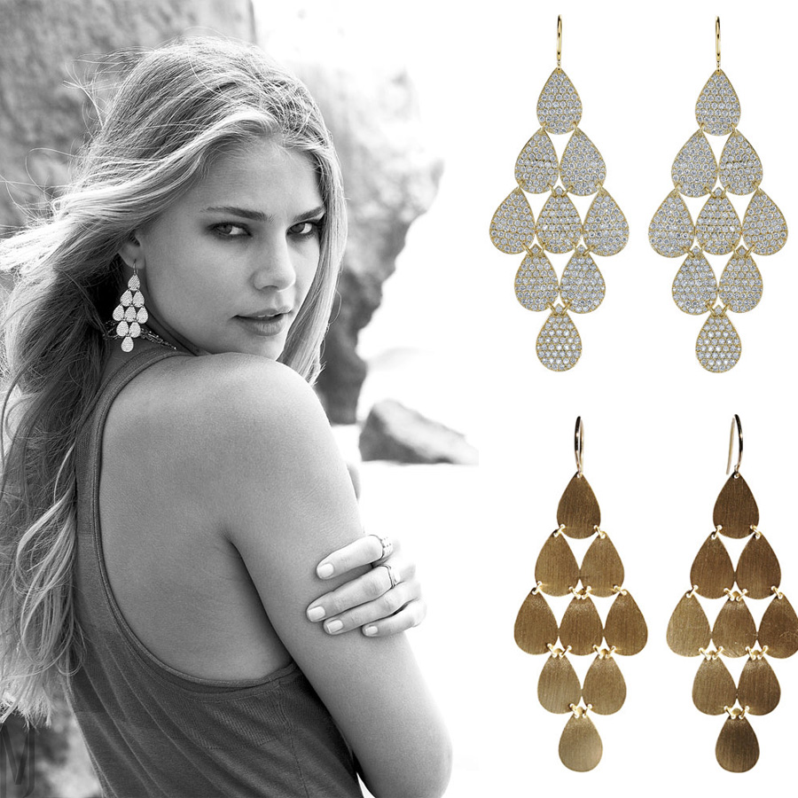 Irene Neuwirth Nine-Drop Earrings - madeofjewelry