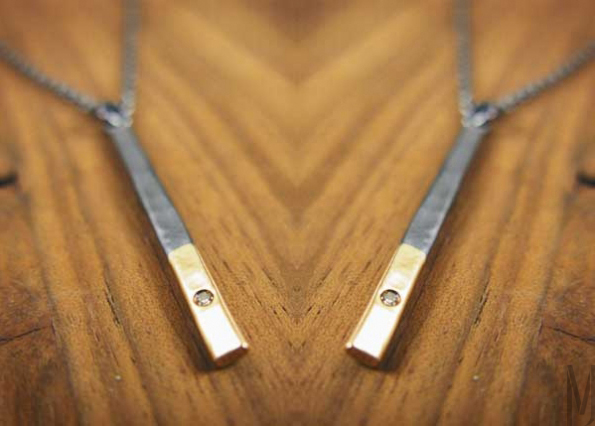 Two_Tone_Pendant_Diamond melissa joy manning - madeofjewelry