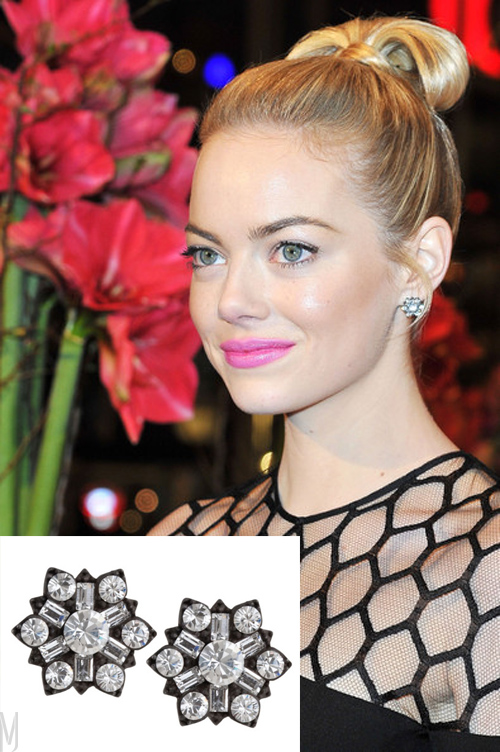 emma stone jamie wolf earrings - madeofjewelry