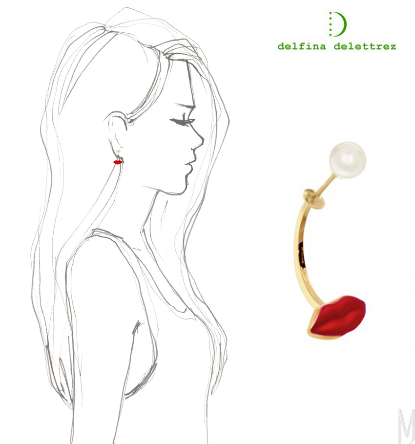 red mouth Delfina Delettrez modaoperandi - madeofjewelry