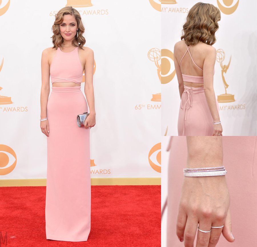 rose byrne emmys 2013 - madeofjewelry