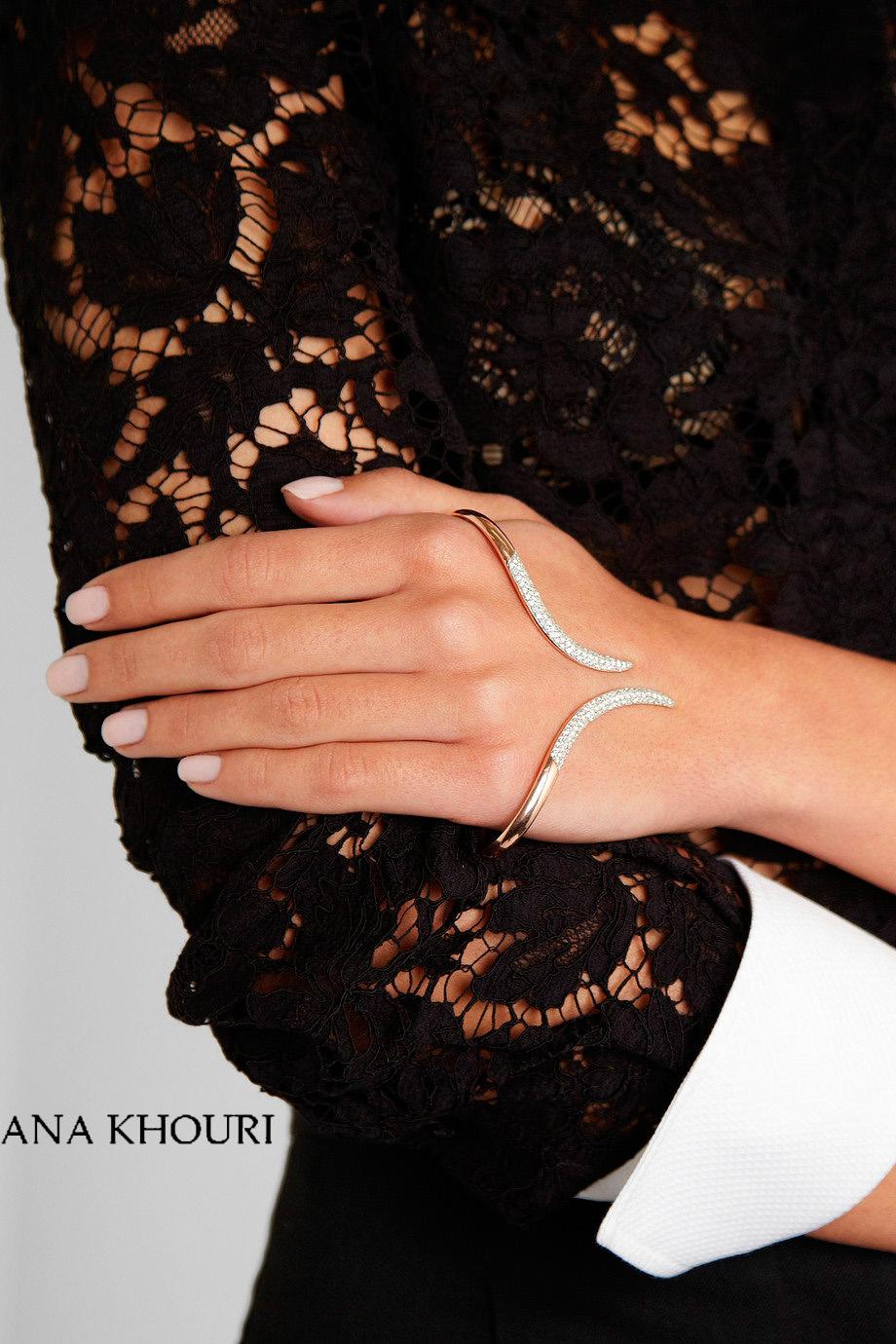 stem hand cuff ana khouri - madeofjewelry
