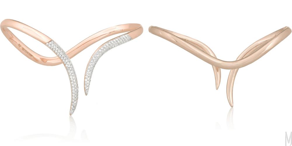 stem hand cuff by ana khouri - madeofjewelry