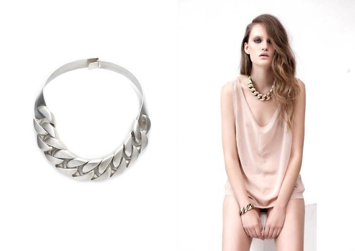 Sarah Sebastian SS2013 curb - madeofjewelry