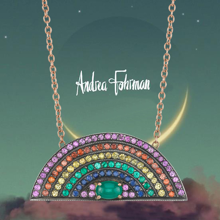 andrea fohrman rainbow pendant - madeofjewelry