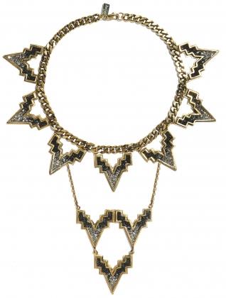 ladygrey v chain c crest - madeofjewelry