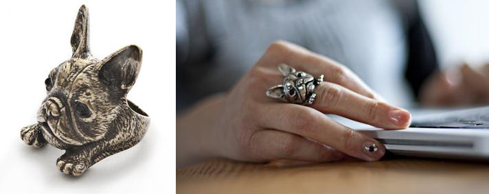 linus bulldog ring by Yaci - madeofjewelry