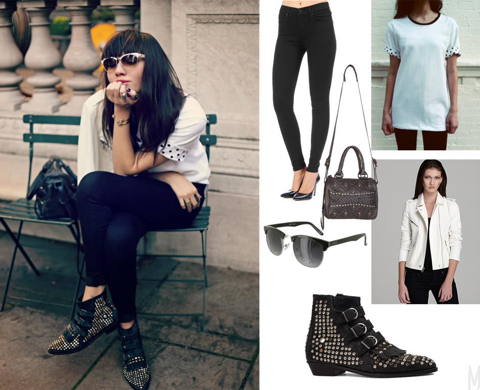 natalie off duty outfit - madeofjewelry