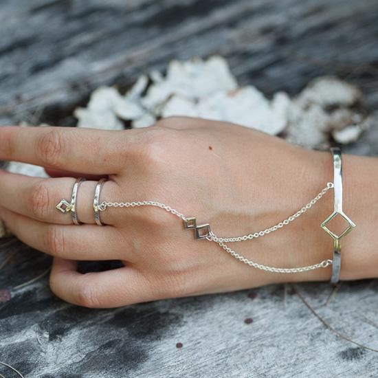 aloha gaia terra slavebracelet - madeofjewelry