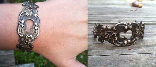 danielle rose bean cuff - madeofjewelry