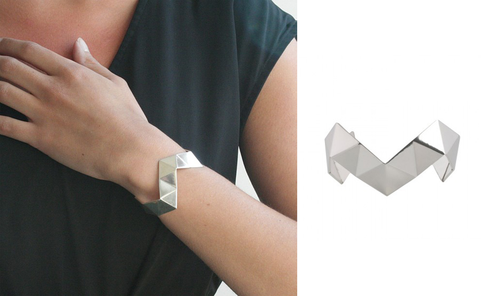 danielle vroemen Geom bracelet - madeofjewelry