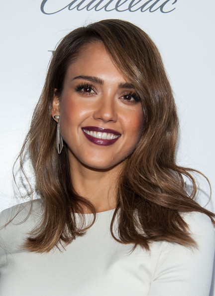 jessica alba whowhatwear cadillac face  - madeofjewelry