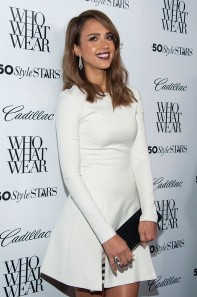 jessica alba whowhatwear cadillac  - madeofjewelry