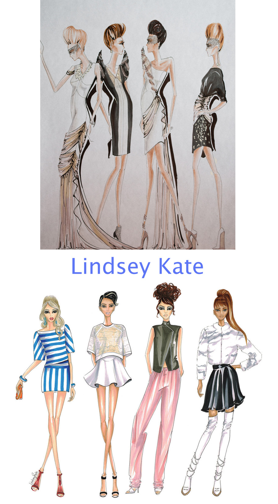 lindsey kate illustrations - madeofjewelry