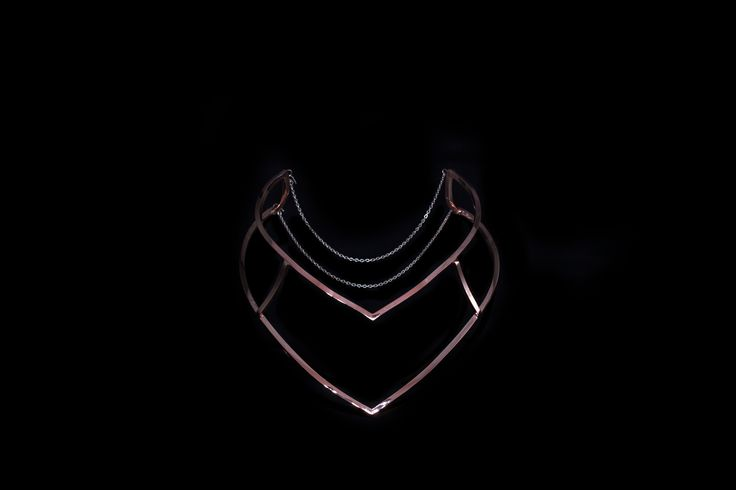 lomo chevron collar - madeofjewelry