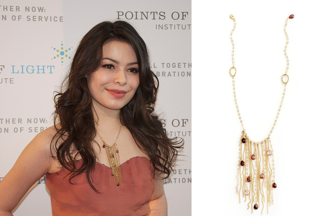 miranda cosgrove Charme Silkiner - madeofjewelry