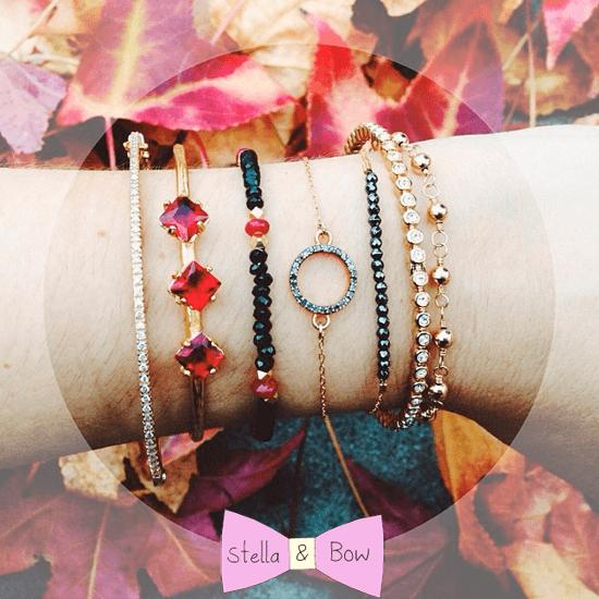 stella and bow bracelets - madeofjewelry
