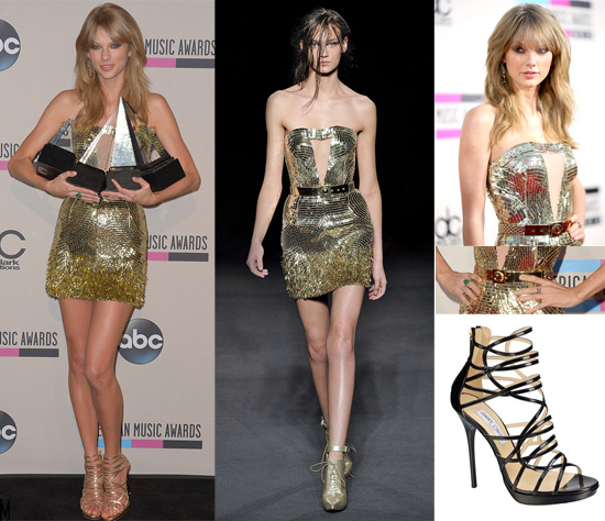 taylor swift amas outfit - madeofjewelry