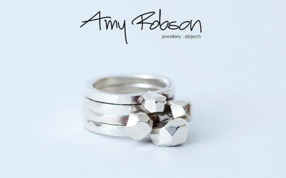 Amy Robson jewellery Rock rings - madeofjewelry