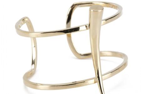 Gabriela Artigas Tusck bracelet gold - madeofjewelry