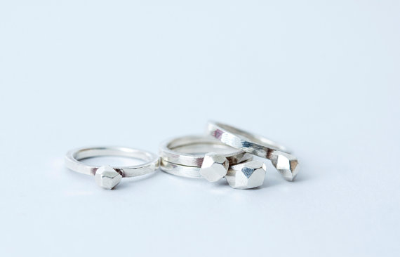 amy robson rock rings silever - madeofjewelry