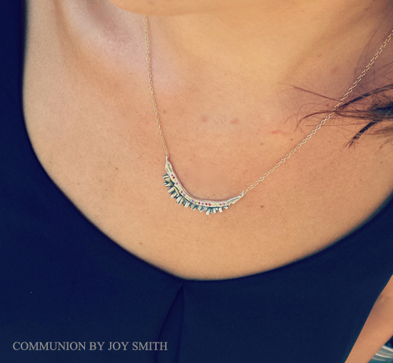 communion joy smith Warrior necklace - madeofjewelry