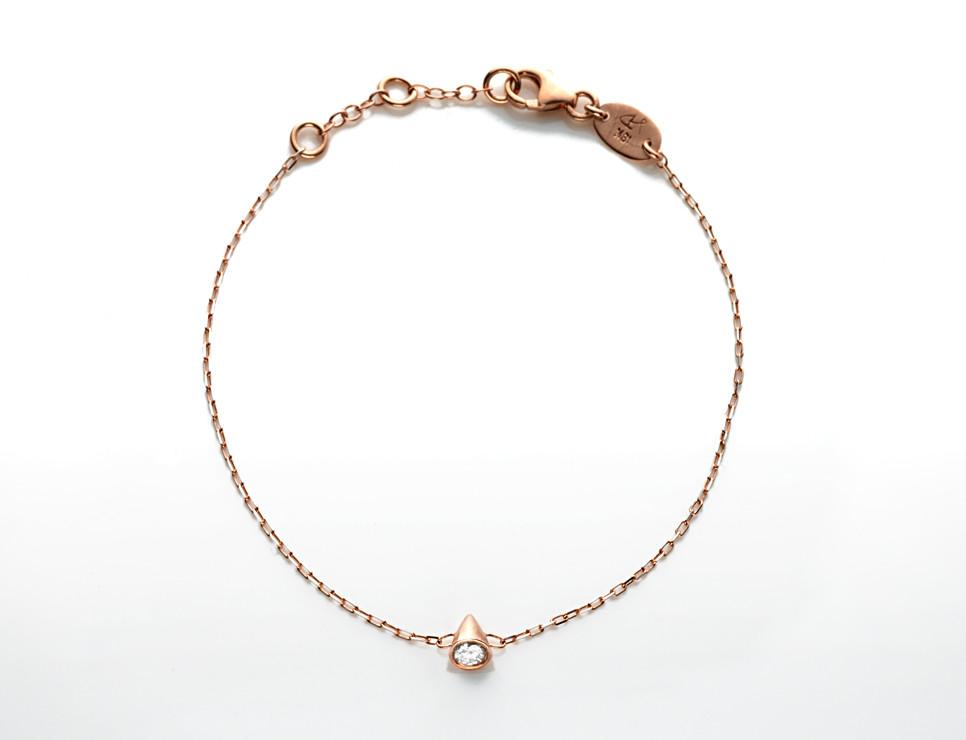 jillian dempsey spike bracelet - madeofjewelry