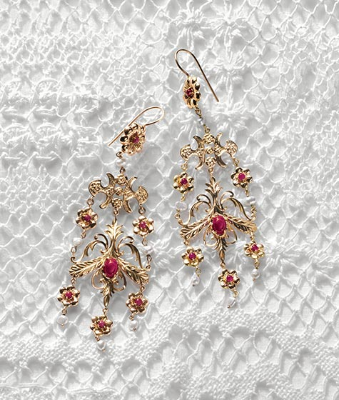 DG  baroque earrings - madeofjewelry