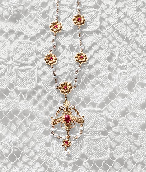 DG baroque necklace - madeofjewelry
