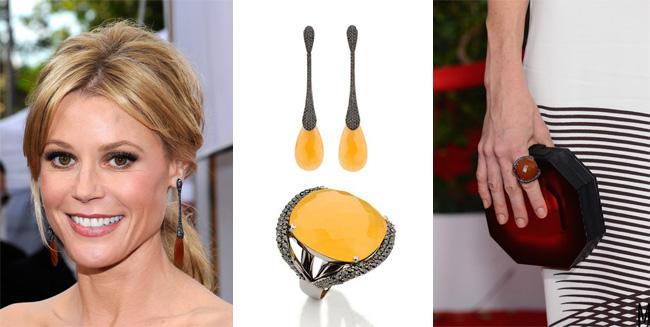 Julie Bowen Carla Amorim SAG jewelry - madeofjewelry