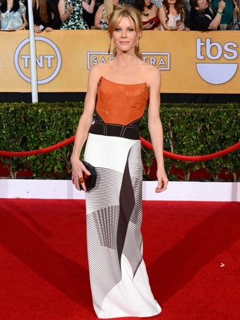 Julie Bowen SAG awards - madeofjewelry