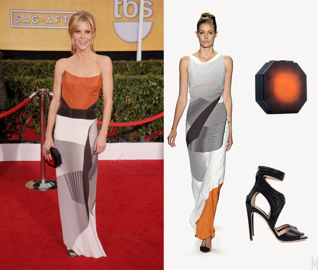 Julie Bowen SAG awards outfit - madeofjewelry