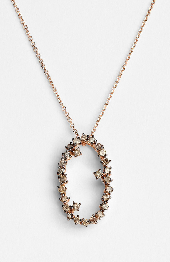 KALAN by Suzanne Kalan Starburst-Oval Necklace - madeofjewelry
