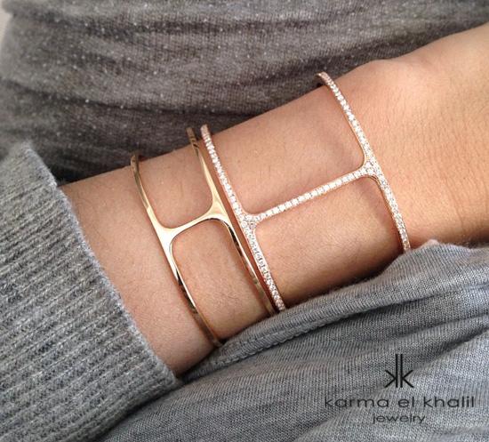 Karma El-Khalil t cuff - madeofjewelry