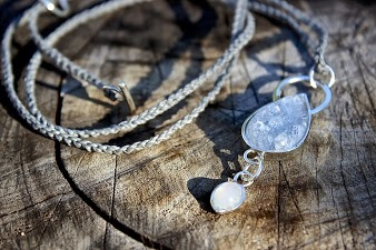 The Silver Elements necklace - madeofjewelry