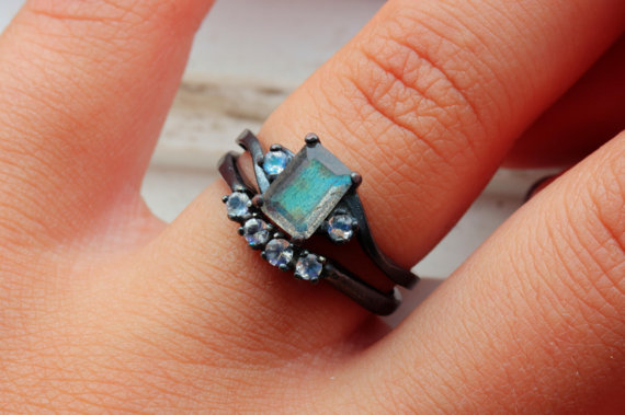 TheFlyingFoxArts labradorite moonstones - madeofjewelry