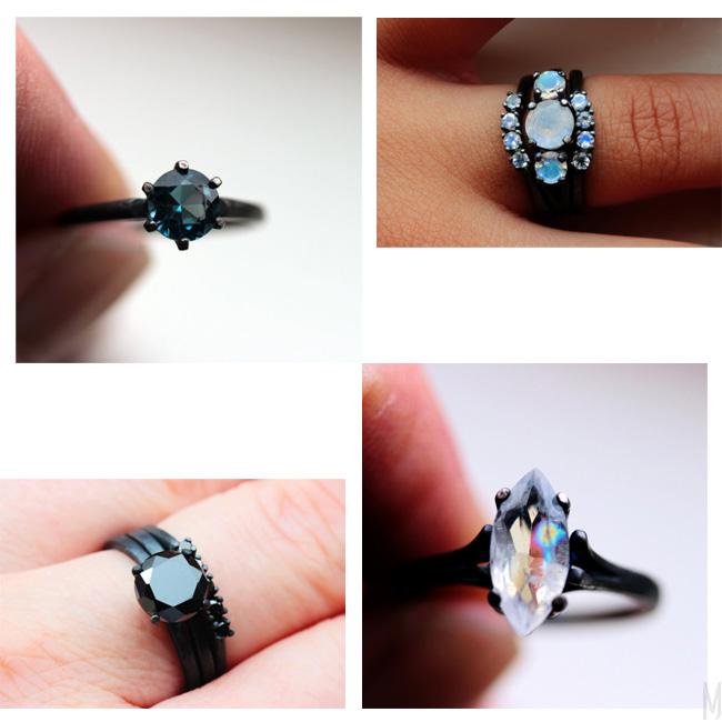 TheFlyingFoxArts rings - madeofjewelry