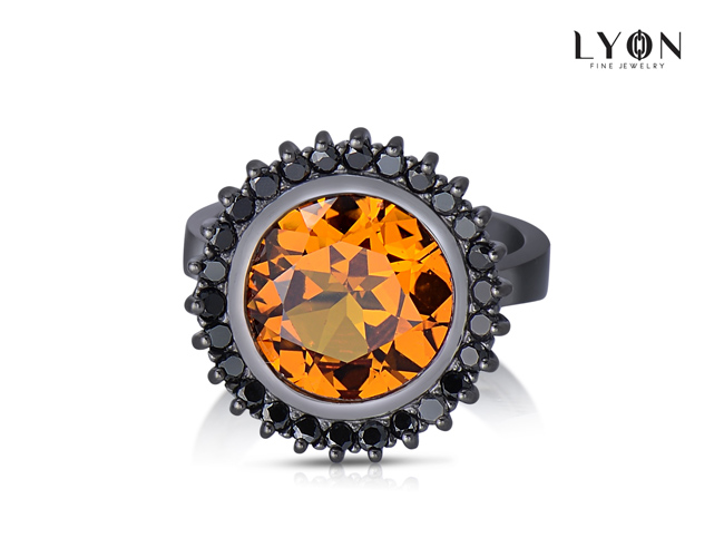 lyon jewelry cyprus citrine ring - madeofjewelry