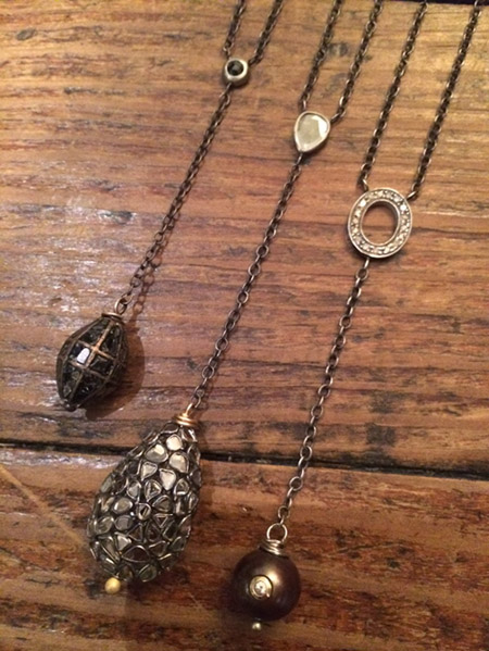 rebecca lankford lariat necklaces - madeojewelry