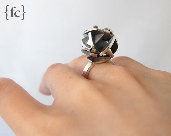 Fairina Cheng geometric ring - madeofjewelry