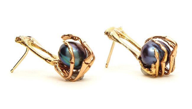 elizabeth knight frog pearl - madeofjewelry